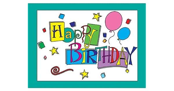 Amazon.com: Teacher Created Recursos Feliz cumpleaños ...
