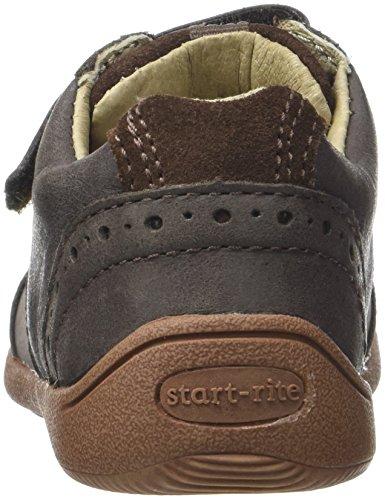 Start Rite Supersoft Hugo, Zapatillas de Baloncesto Para Niños Marrón (Brown)