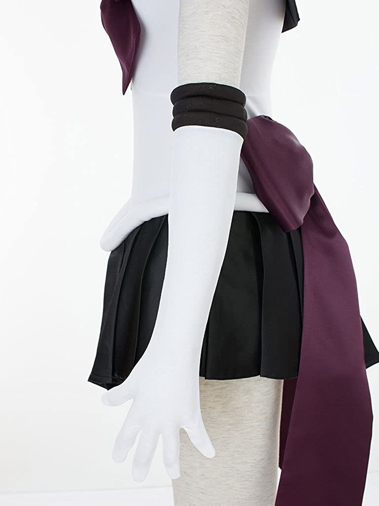 Chong Seng CHIUS Cosplay Costume Black Socks for Sailor Pluto Meiou Setsuna Version 1//3