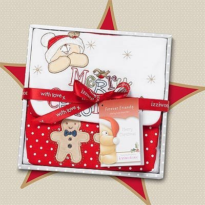 Izziwotnot Forever Friends Snowflake Christmas Baby Gift ...