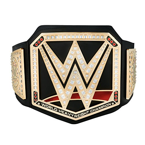 (WWE Authentic Wear Championship Toy Title Belt 2017 Gold)