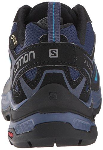 Salomon Women's X Ultra 3 GTX Trail Running Shoe, Medieval Blue/Black/Hawaiian surf, 5 B US by Salomon (Image #2)