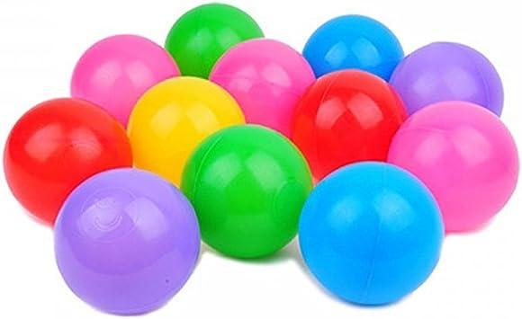 ZEARO 100Pcs Oceano Bolas plástico Pelotas colores Juegos piscina ...