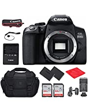 Canon EOS 850D (T8i) DSLR Camera (Body Only) Bundle, Starter Kit with Accessories (Gadget Bag, Extra Battery, 128Gb Memory and More)