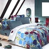 Blancho Bedding - [Grapevine Leisure] 100% Cotton 2PC Mini Comforter Cover/Duvet Cover Set (Twin Size)