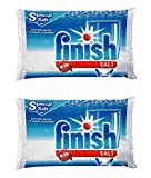 Bosch 00469559 Finish Dishwasher Salt, Water Softener, 4.4 Lbs Pack of Two