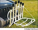 Angler's Fish-n-Mate 6 Rod Holder Fold-Down for Vehicle