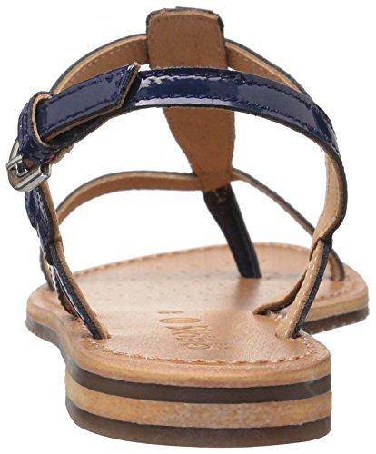 Geox D722CHC4002 Sandalo Infradito Blu 39 Donna
