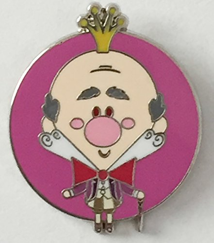 Disney Pin 117060 DLR World of Evil Mystery Collection ~ King Candy Pin Villain from Wreck it Ralph (King Disney Candy Pin)