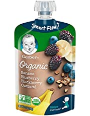 Gerber 2nd Foods Organic Oat, Banana Blueberry Blackberry MP 2