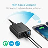 Anker Quick Charge 3.0 51.5W 5-Port USB Wall Charger, PowerPort Speed 5 for Galaxy S9/S8/edge/Plus, Note 8/7, LG G4/G5, HTC One M9/A9, Nexus 9, with PowerIQ for iPhone XS/Max/XR/X/8/7, iPad, and More