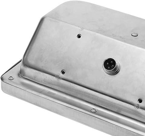 Balanza Industrial de Plataforma 45x60cm b/áscula 300Kg de Acero Inoxidable Cablematic