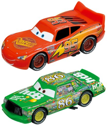carrera go quotdisney quotcarsquot slot race car set 143 scale