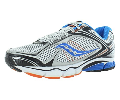 Saucony Men's Progrid Echelon 3 Running Shoe,White/Blue/O...