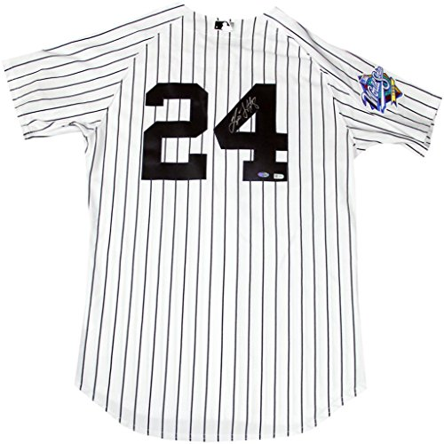 (Tino Martinez Signed New York Yankees Authentic Pinstripe Jersey w/ 1999 Patch (MLB Auth))