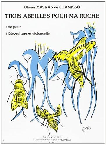 Livres gratuits 3 Abeilles pour ma ruche pour Flûte, guitare et Vlc. pdf, epub