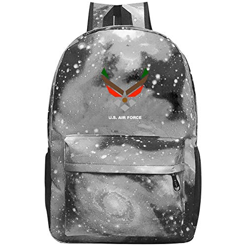 - Star School Bag US Air Force Wings Logo1 Fashion Satchel Galaxy Backpack for Student Kids Boys Girls