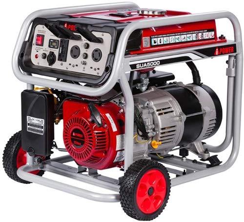Amazon.com: JEGS 86065 Generador portátil 5000 W Surge Watts ...