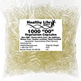 "Empty Vegetarian Capsules – 1000 Size""00″ Bulk Wholesale Review"