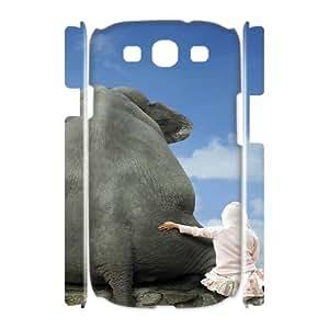 3D Samsung Galaxy S3 Cases Funny 113, Fun [White]