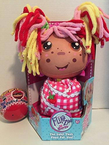[FLIP ZEE GIRLS ZANA STRAWBERRY THE BABY THAT FLIPS FOR YOU COMES WITH 1 BONUS SURPRIZAMALS STUFFED ANIMAL] (Scary Ragdoll Costumes)