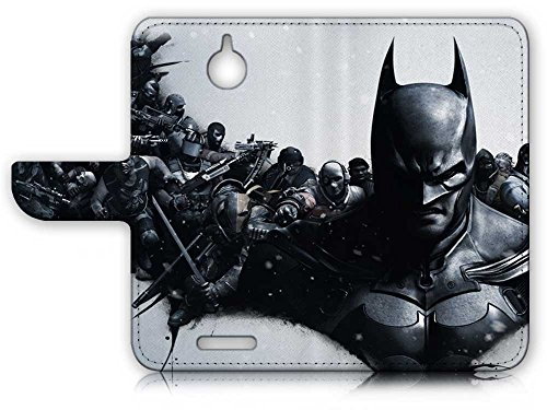 HTC Desire 510 Flip Wallet Case Cover & Screen Protector & Charging Cable Bundle! A8151 Batman at Gotham City Store