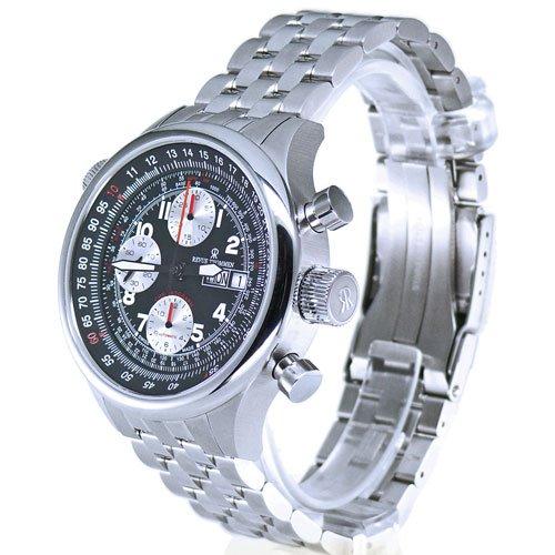 Revue Thommen Flight Level 180 Chronograph - Reloj cronógrafo de caballero automático con correa de acero