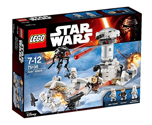 LEGO Star Wars – Ataque a Hoth, multicolor (75138)