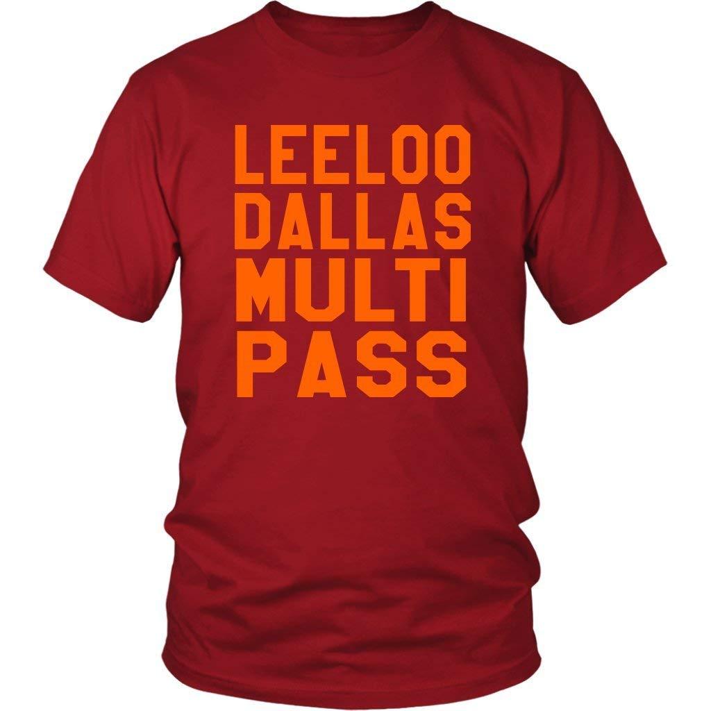 fec3adb8 Leeloo Dallas Multi Pass - Unisex T-Shirt - The Fifth Element Quote    Amazon.com