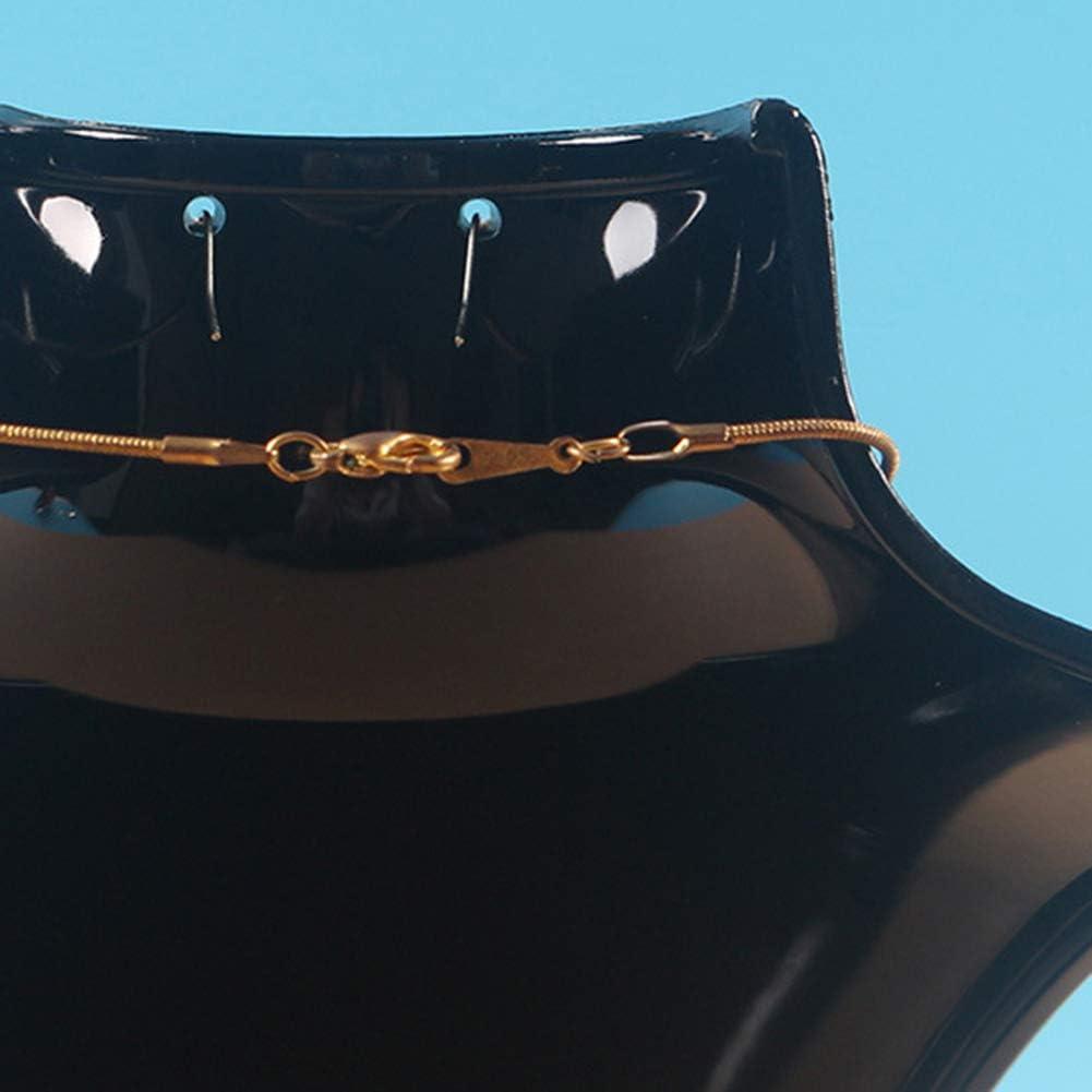 CFPacrobaticS Collier Boucles Doreilles Organisateur Porte-bijoux Porte-/étag/ère Rack Mannequin Boutique De Voyage Mod/èle De D/étail Noir