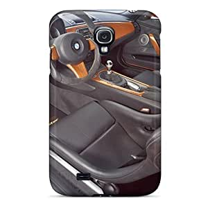Durable Orange Bmw Ac Schnitzer V8 Topster Interior Back Cases/covers For Galaxy S4