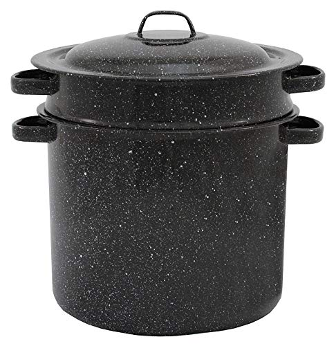 (Granite ware 7.5-quart Blancher 3-piece set stock pot)