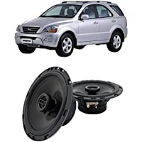 Fits Kia Sorento 2003-2009 Front Door Factory Replacement Harmony HA-R65 Speakers New