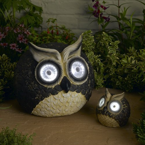 Owl Solar Accent Lights by Smart Solar by Smart Solar