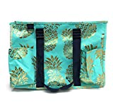 N Gil All Purpose Organizer Medium Utility Tote Bag 2 (Pineapple Mint)