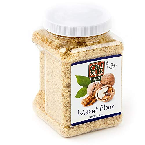 (Flours & Meals 1 LB Jars - Oh! Nuts (Ground Walnuts 2 Pack))