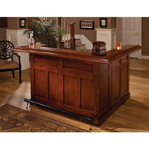 Hillsdale Furniture Hillsdale 62578AXCHE Classic Side Bar, Large, Cherry Finish