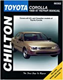 Chilton Toyota Corolla 1988-1997 Repair Manual (68302)