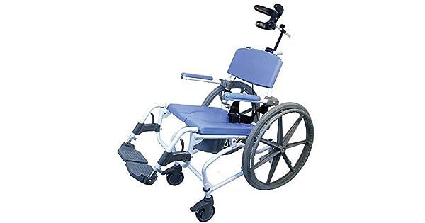 Amazon.com: Silla de ducha, baño silla de ruedas de ...