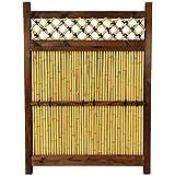 Oriental Furniture 4 ft. x 3 ft. Japanese Bamboo Zen Garden Fence