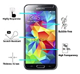 [2 Pack] iVoler [Tempered Glass] Screen Protector for Samsung Galaxy S5 / S5 Neo, [0.2mm Ultra Thin 9H Hardness 2.5D Round Edge] with Lifetime Replacement Warranty