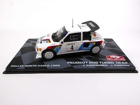 Générique Peugeot 205 Turbo 16 E2 1986 Kankkunen (BR7)