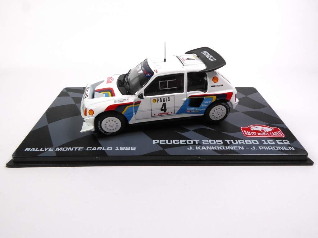 1:43 Size Peugeot 205 Turbo 16 E2 1986 EAGLEMOSS Monte Carlo Rally New