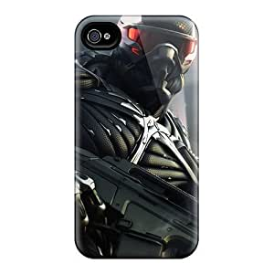 USMONON Phone cases Premium Tpu New Crysis 2 Game Cover Skin For Iphone Iphone 5 5s