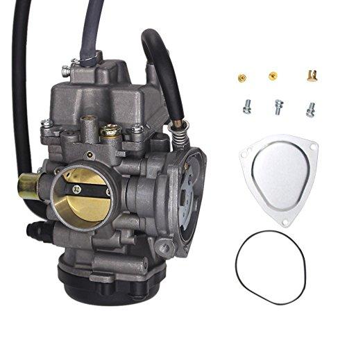 SUNROAD Replacement Carburetor for ATV Yamaha 2000-2006 Big Bear Kodiak 400 & 2007-2011 Grizzly 350 450 & 2006-2009 Wolverine 350 & 2007-2010 Wolverine 450