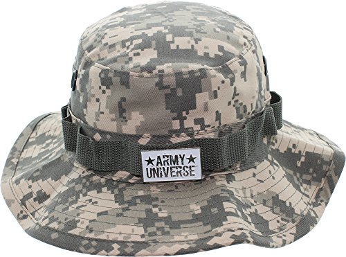 Camouflage Acu Digital Army (Army Universe ACU Digital Camouflage Tactical Boonie Bucket Hat with Pin Size X-Large 8)
