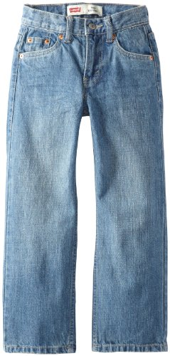 (Levi's Boys' Big 550 Relaxed Fit Jeans, Catapult, 16)
