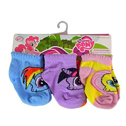 d897b9598d Image Unavailable. Image not available for. Color: Socks - My Little Pony - Toddler  Girls ...