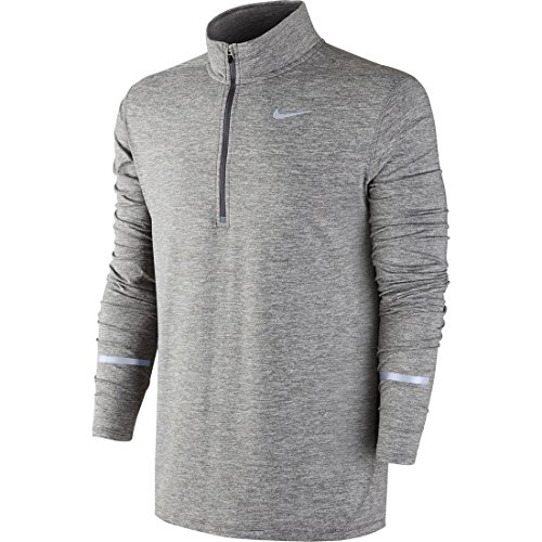 Nike 683485-021 Element Half-Zip - Grey/Silver - S 683485-021-S