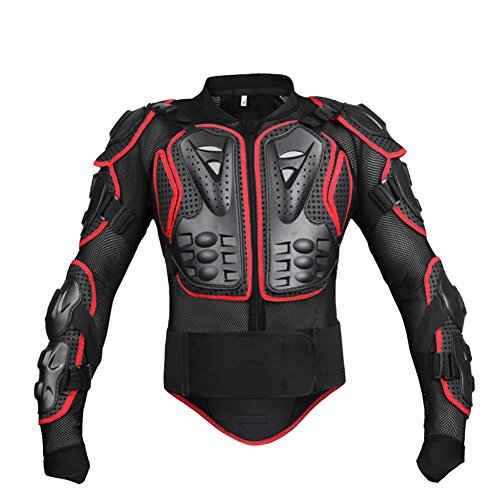 Cibeat Motorcycle Protective Mesh Jacket Sport Motocross Racing Full Body Protector Gear